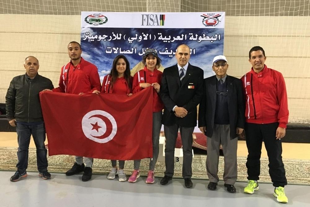 Championnats Arabe d'Aviron en Salle 2017-1