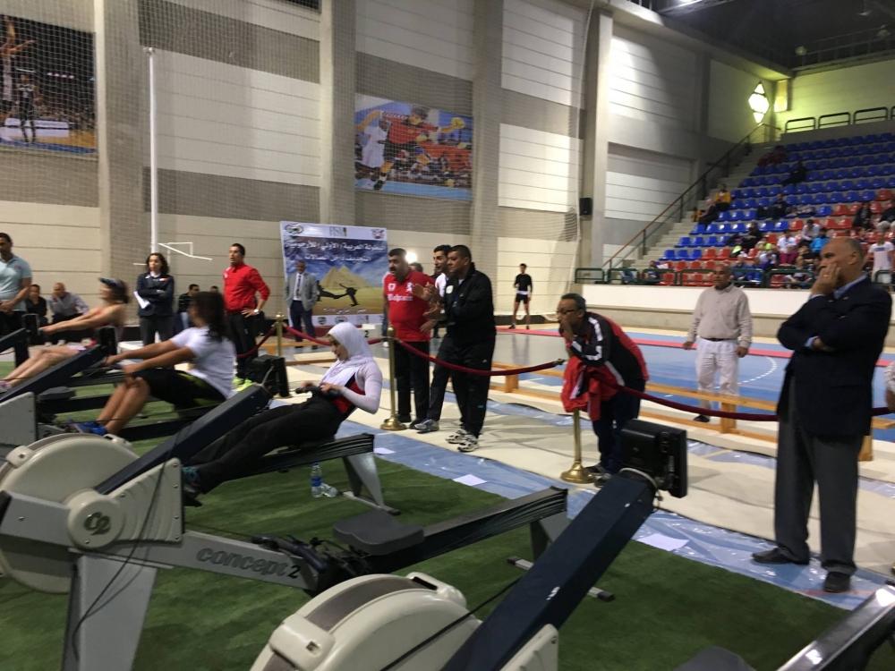 Championnats Arabe d'Aviron en Salle 2017-2