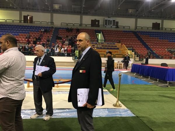Championnats Arabe d'Aviron en Salle 2017-3