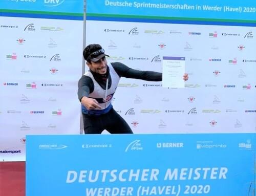 Mohamed Taieb champion d'Allemagne 2020 en sprint