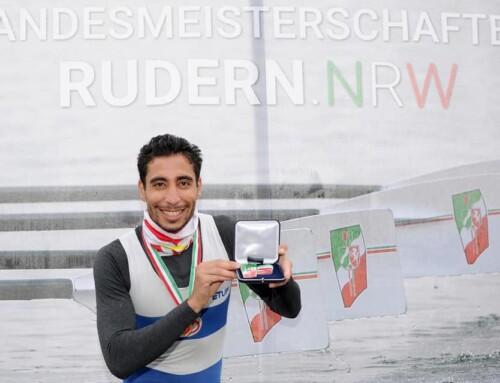 1ère place pour Mohamed Taieb à la Regatta-Verein Niederrhein e.V