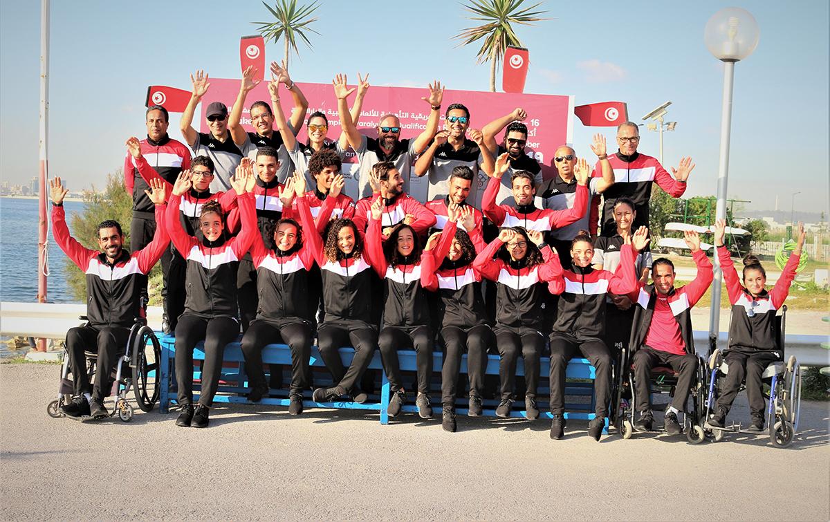Tunisia Rowing Team