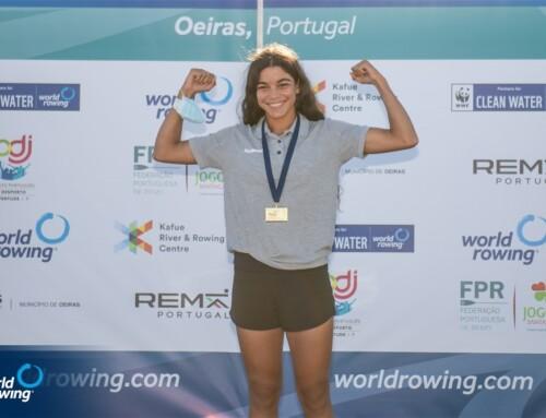 Médaille de Bronze pour Bilel Frigui et Hela Belhaje Mohamed aux Championnats du monde d'aviron de plage 2021