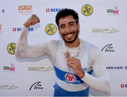 Mohamed Taieb 3ème en championnat d'Allemagne de sprint 2021