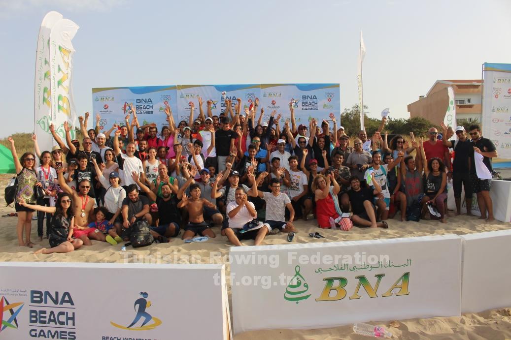 les 3 me jeux de plage de tunisie bna beach games 2017 r sultats tunisian rowing federation. Black Bedroom Furniture Sets. Home Design Ideas