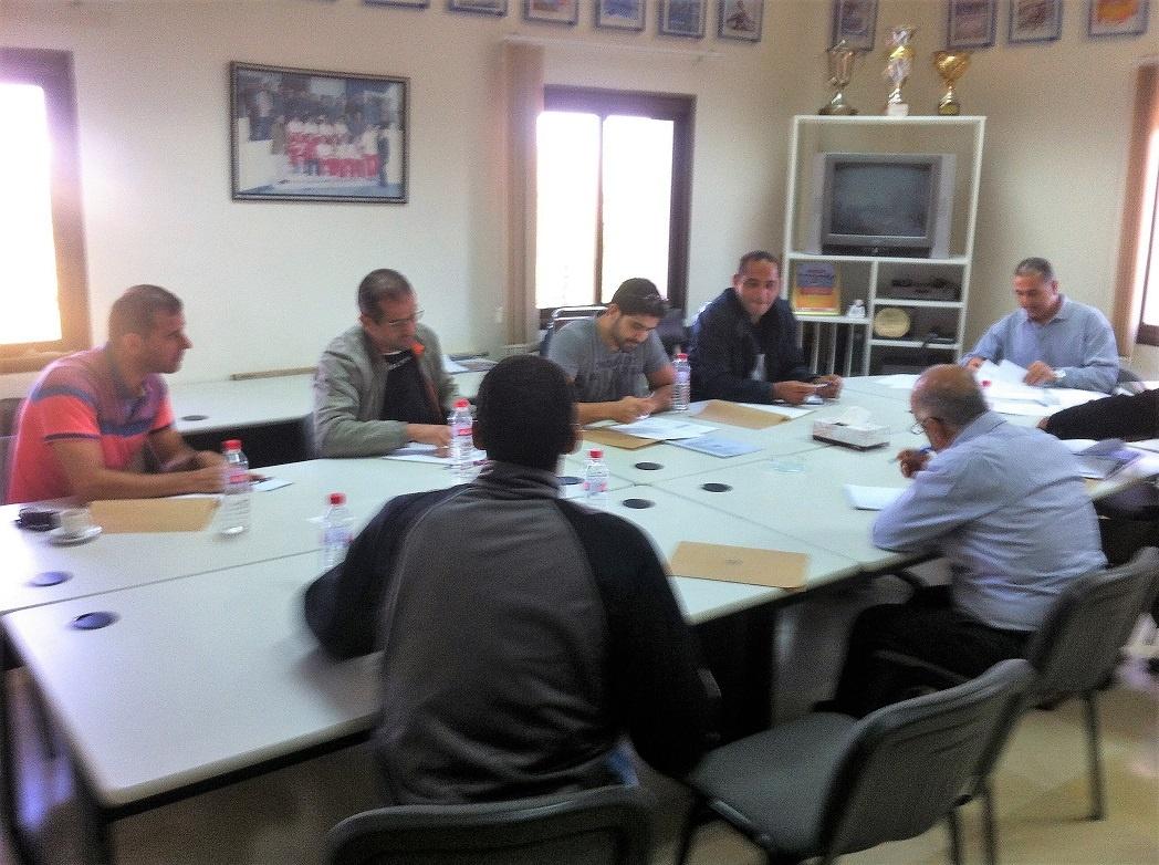 Stage de formation d'entraîneur d'Aviron des centres de promotions 2017